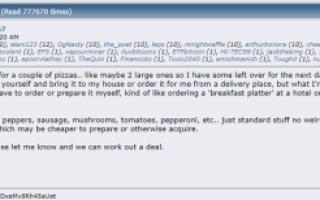 Піца за 10000 біткоіни, яку купив американець у 2010 році