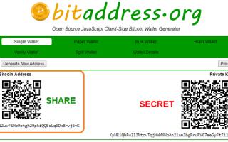 Біткоіни-адреса — як створити і де взяти, використання Bitcoin-адреси