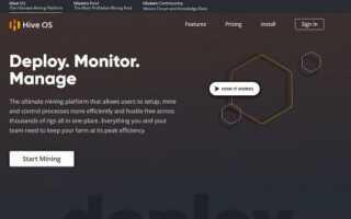 Hive OS — настройка і установка ОС для Майнер, огляд пулу