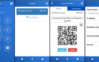 Мобільний гаманець Ripple (XRP) для Android і iOS