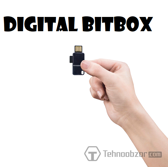 Апаратний біткоіни-гаманець Digital BitBox